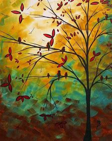 Megan Aroon Duncanson (MADART) has a distinct flair for modern/contemporary art. Her style and use of color are unmistakable. Your Paintings, Landscape Paintings, Landscapes, Arte Pop, Office Art, Living Room Art, Bottle Art, Love Art, Art For Sale