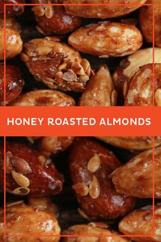 Honey Roasted Almonds | Madhava