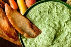Greek Goddess Dip Recipe - Greek strain in this dressing comes from using dill in place of watercress. Make it and watch it do a disappearing act on vegetables, pita chips or whatever conduit you can dream up - NYT Cooking Cookout Appetizers, Appetizer Recipes, Tapas, Mayonnaise, Dip Recipes, Cooking Recipes, Weed Recipes, Recipies, Cooking Games