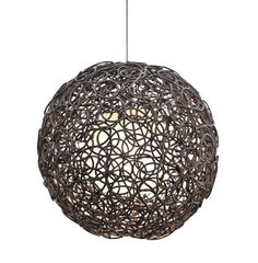 Kenneth Cobonpue : Collections : NOODLE : Hanging Lamp