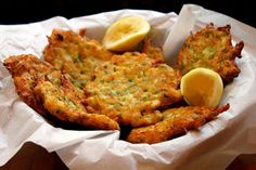 Zucchini Ricotta fritters  Use almond flour instead of all purpose flour for THM