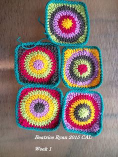 Ravelry: Project Gallery for Crochet with Me~Winter CAL 2015 pattern by Beatrice Ryan Designs