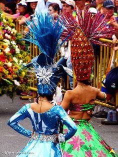 Comparsa del Desfile de Silleteros en la Feria de las Flores