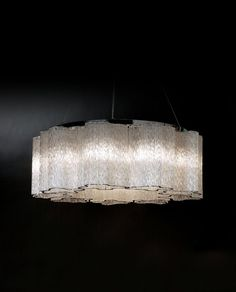 Pantages 9 Light Drum Pendant