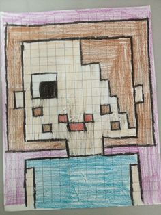 MC School Art: Minecraft Selfies!
