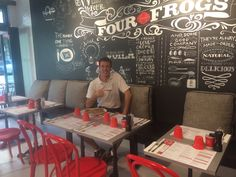 Welcome To Four Frogs Creperie - Sydney - Australia French Crepes, Sydney Restaurants, Restaurant Ideas, Public Spaces, Good Company, Places To Eat, Frogs, How To Look Better, Commercial