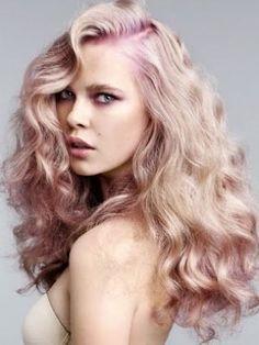 Rose Gold Hair - http://www.besthairstyles2013.com/rose-gold-hair.html