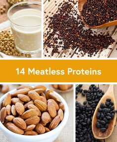14 Proteins for Meatless Meals via @DailyBurn