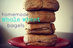 Homemade Whole Wheat Bagel Recipe | Whole Wheat Bagel, Bagel Recipe ...