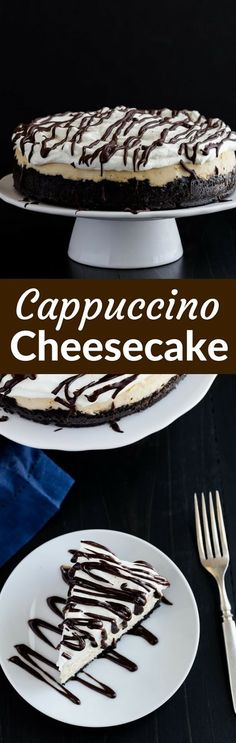 Cappuccino Cheesecake | Food And Cake Recipes