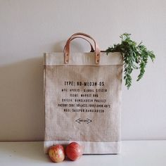 Apolis Market Bag Reduce Waste Zero Summer Bags Flat