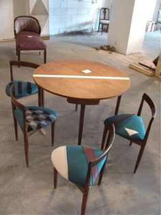 more DIY upholstery from nightwood.