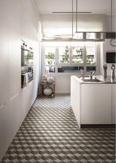 Porcelain stoneware floor #tiles FIRENZE by FAP ceramiche #kitchen @fapceramiche