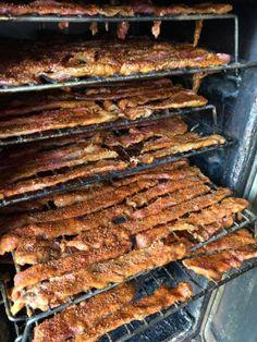 Eddie's Smoked Honey BBQ Beef Jerky recipe by Fan Submission Honey Bbq Beef Jerky Recipe, Great Recipes, Favorite Recipes, Healthy Recipes, Bbq Seasoning, Jerky Recipes, Smoked Beef, Stick Of Butter, Easy Meals