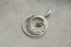 Anheng i sølv med zirkonia Silver Jewelry, Ring, Rings, Silver Jewellery, Jewelry Rings