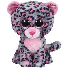Ty Beanie Boos Tasha Leopard Medium c33497894e77