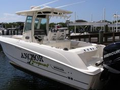 """Don't need therapy, just need my boat. Check out """"Anchor Management"""" 2012 Boston Whaler 28 Outrage. Boston Whaler, Used Boats, Boats For Sale, Anchor, Therapy, Management, Check, Anchor Bolt, Healing"""