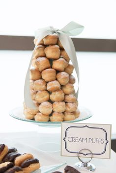 cream puff tower