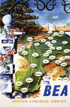 BEA - British European Airways: Ian Ribbons c.1953 (British Airways Heritage Centre)