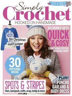 Simply Crochet  Issue 37 2015 - 轻描淡写 - 轻描淡写