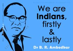 Thoughts and critiques of Dr B. R. Ambedkar, Founding Father, modern India