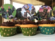 fortnite cupcakes Archives - Kids Birthday Parties