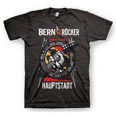Bern Rocker - Black Bern, Mens Tops, T Shirt, Collection, Black, Fashion, Supreme T Shirt, Moda, Tee Shirt