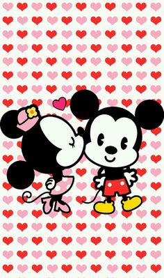 Mickey and Minnie Wallpaper Iphone