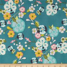 Art Gallery Emmy Grace Voile Floral Floats Fresh from @fabricdotcom  Designed by Bari J. for Art Gallery Fabrics, this finely woven voile fabric is perfect for creating stylish blouses, shirts, or dresses and skirts with a lining. Colors include aqua, hot pink, citrus, olive, charcoal and teal blue.