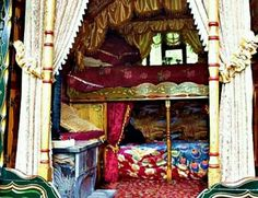 Gypsy inspired bunk beds