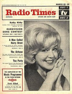 650320 - Radio Times - March 20th 1965 - Eurovision Song Contest - Kathy Kirby | by Bradford Timeline