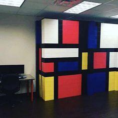 Building Blocks Modular Design Create Everblock Everblocksystems Diy Mondrian Officewall Dividerwall Wall Parion
