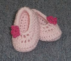 cute baby slippers - free pattern!