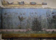 Painted Garden, Villa of Livia, with vaulting fragments
