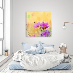 Discover «Summer Meadow», Numbered Edition Canvas Print by Andrea Haase - From 45€ - Curioos