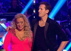 Tension: Anastacia, 48, and dance partner Brendan Cole, 40, have reportedly been arguing ever since they scraped through week two of Strictly