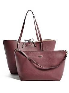 Bobbi Inside-Out Tote Set | GUESS.com