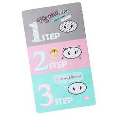 Holika Holika pig-nose clear black head 3-step kit 피그노즈 클리어 블랙헤드 3-Step 키트 W2,000