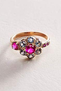 Posy Ring in 14k Rose Gold - anthropologie.com #anthrofave