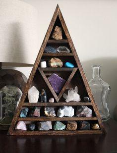 Crystals shelf