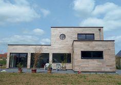 Maison bois 2 - Détail du plan de Maison bois 2   Faire construire sa maison