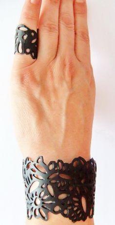 Inner tube bracelet & ring