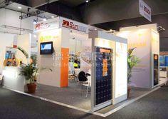 csun Melbourne, Australia,English Booth Design,csun solar Exhibition Hall Planning【Demage English Exhibition Company】