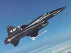 Northrop F-20 Tigershark. Beautiful design, high performance. The best plane that no one ever wanted.