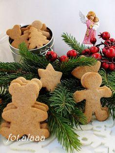 Ala piecze i gotuje: Pierniczki od razu miękkie Millie The Model, Baby Blanket Crochet, Gingerbread Cookies, Food And Drink, Pure Products, Sweet, Life, Gingerbread Cupcakes, Ginger Cookies