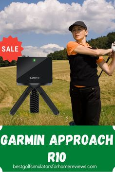 Setup with the Garmin R10 is quite easy: Turn on the unit, boot up the Garmin Golf app on your smartphone, and start measuring. learn now Home Golf Simulator, Golf Simulators, Club Face, Price Point, Improve Yourself, Monitor, Product Launch, The Unit, Marketing