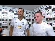 Zlatan Ibrahimovic & Wayne Rooney Post Match Interview - Bournemouth 1-3...