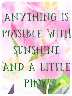 or a lot of pink...;)
