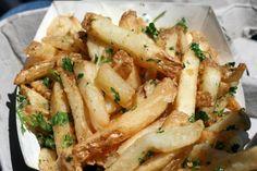 Gilroy garlic fries ~ Gilroy Garlic Festival California