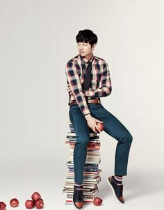 Gong Yoo for MIND BRIDGE FALL 2013 CAMPAIGN